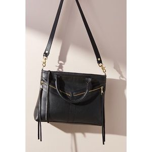 Anthropologie JJ Winters Zoey Leather Tote Bag